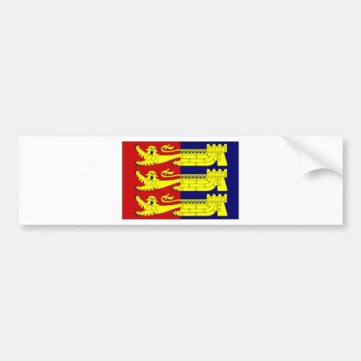 United Kingdom Cinque Ports Flag Bumper Sticker