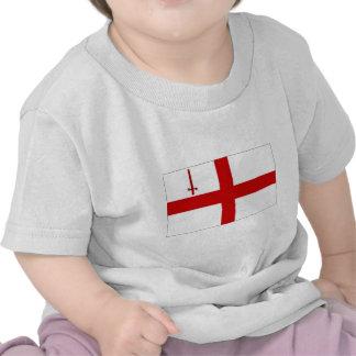 United Kingdom City of London Flag T Shirt