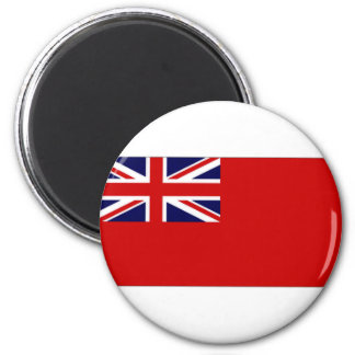 United Kingdom Civil Ensign Red Duster Flag 6 Cm Round Magnet