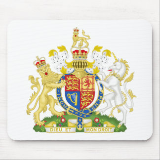 United Kingdom Coat of arms GB Mouse Mat