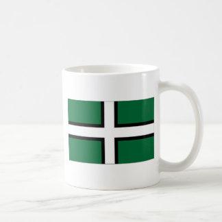 United Kingdom Devon Flag Basic White Mug