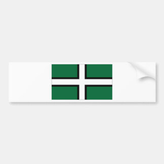 United Kingdom Devon Flag Bumper Sticker