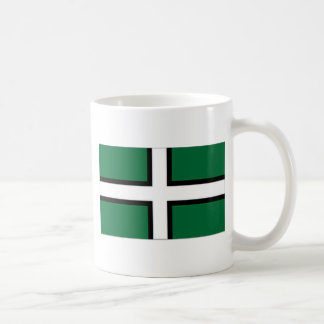 United Kingdom Devon Flag Coffee Mug