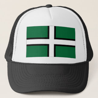 United Kingdom Devon Flag Trucker Hat