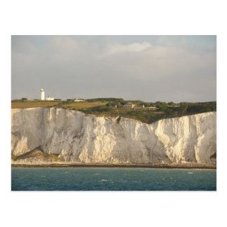 United Kingdom, Dover. The famous white cliffs Postcard