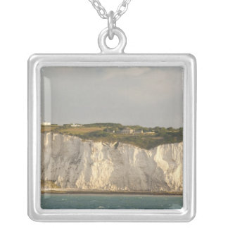 United Kingdom, Dover. The famous white cliffs Silver Plated Necklace