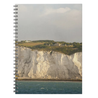 United Kingdom, Dover. The famous white cliffs Spiral Notebook