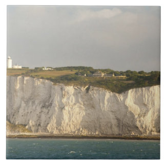 United Kingdom, Dover. The famous white cliffs Tile