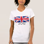 "United Kingdom Flag ""2012"" Tshirt"