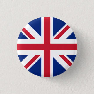 United Kingdom Flag 3 Cm Round Badge