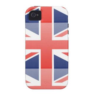 United Kingdom Flag Vibe iPhone 4 Covers
