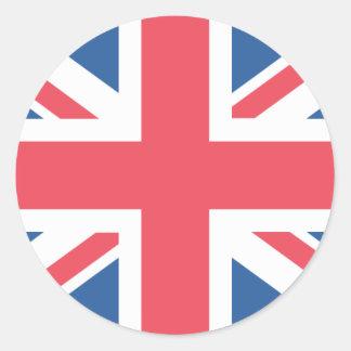 United Kingdom Flag Classic Round Sticker