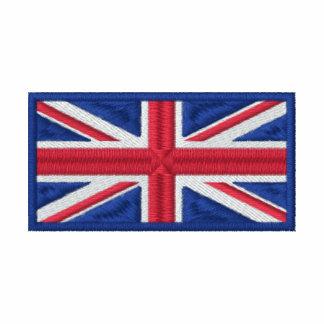 United Kingdom Flag Embroidered Polo Shirt