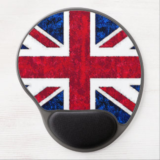 UNITED KINGDOM FLAG GEL MOUSE PAD