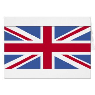 UNITED KINGDOM FLAG GREETING CARD