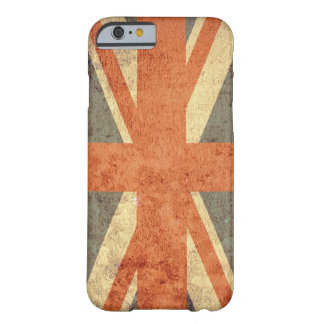 United Kingdom Flag - Grunge Barely There iPhone 6 Case