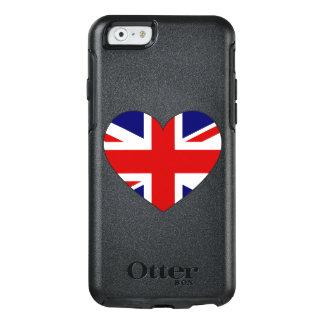United Kingdom Flag Heart OtterBox iPhone 6/6s Case