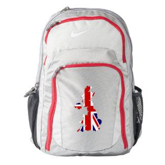 United Kingdom Flag/Map Backpack