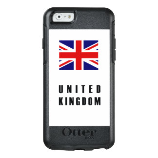 United Kingdom Flag Simple Dark OtterBox iPhone 6/6s Case