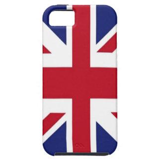 United Kingdom flag Tough iPhone 5 Case