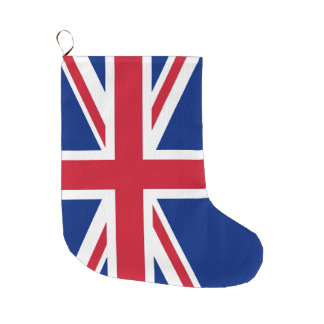 United Kingdom Flag Union Jack Large Christmas Stocking