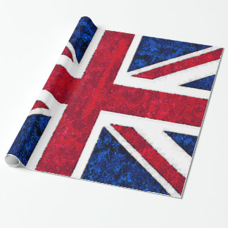 UNITED KINGDOM FLAG WRAPPING PAPER