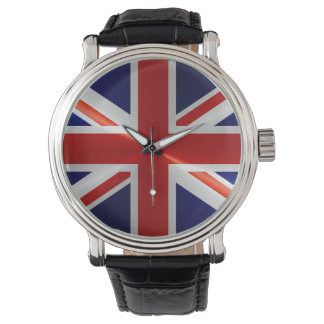 United Kingdom Flag Wristwatch