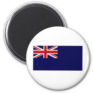 United Kingdom Government Naval Reserve Ensign 6 Cm Round Magnet