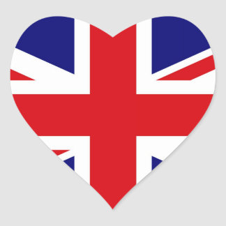 UNITED KINGDOM HEART STICKER