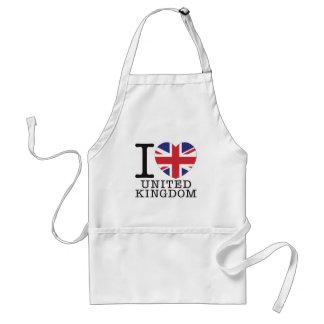 United Kingdom Love v2 Aprons