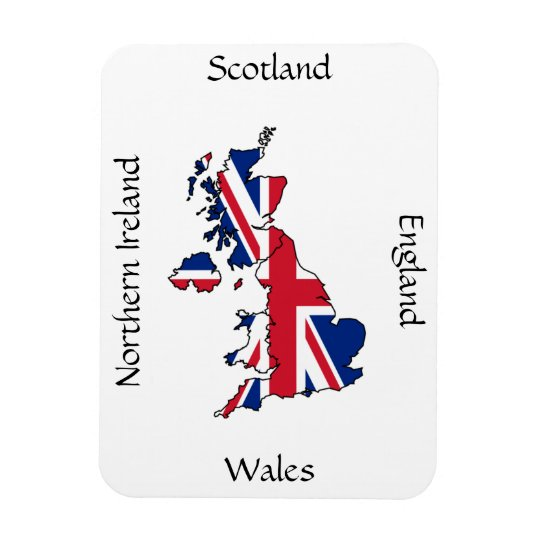 United Kingdom magnet