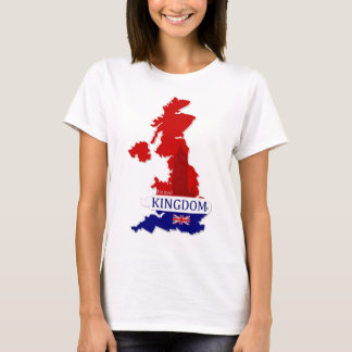 United Kingdom Map Designer Shirt Apparel Him Hers
