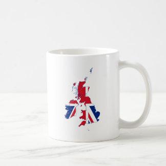 United Kingdom map Flag GB Mugs