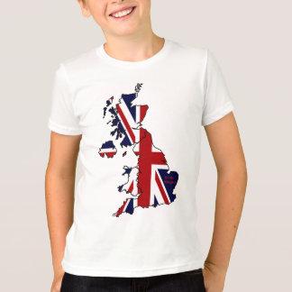 United Kingdom Map Kid's T-Shirt