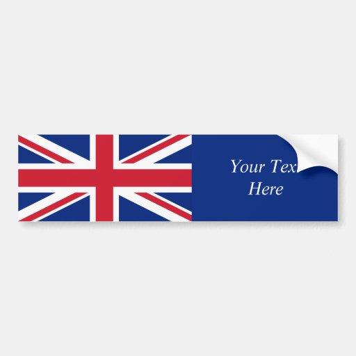 United Kingdom National Flag Bumper Stickers