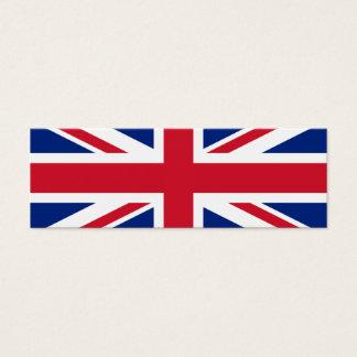 United Kingdom National Flag Mini Business Card
