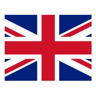 United Kingdom National Flag Postcard
