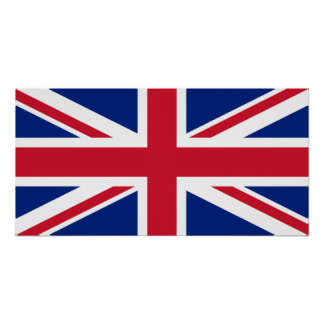 United Kingdom National Flag Poster