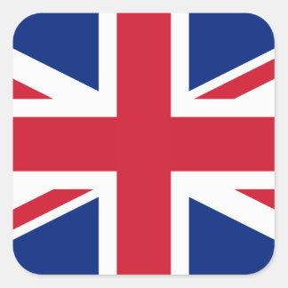 United Kingdom National Flag Square Sticker