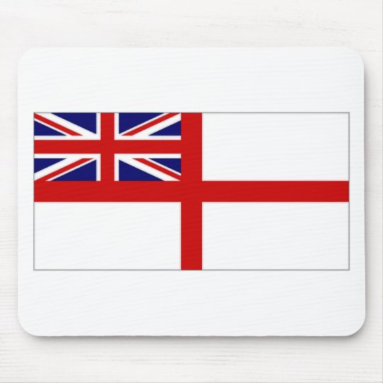 United Kingdom Naval Ensign White Ensign Mouse Mat
