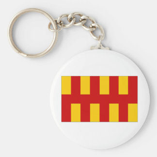 United Kingdom Northumberland Flag Key Ring