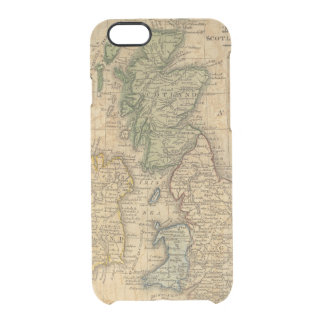 United Kingdom of England, Scotland and Ireland Clear iPhone 6/6S Case