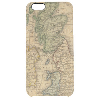 United Kingdom of England, Scotland and Ireland Clear iPhone 6 Plus Case