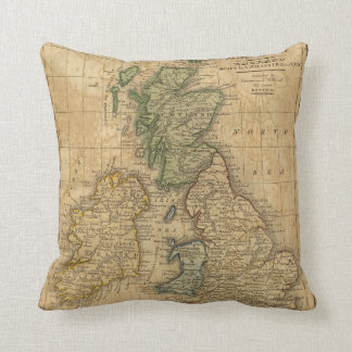 United Kingdom of England, Scotland and Ireland Cushion