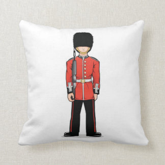 United Kingdom Palace Guardsman Cushion