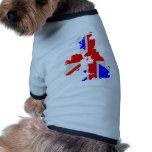 United Kingdom Pet Tshirt