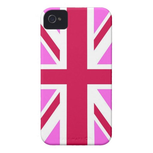 united kingdom pink flag gay proud great britain iPhone 4 Case-Mate cases