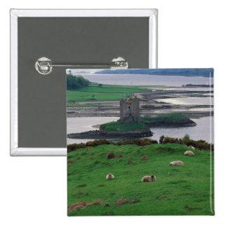 United Kingdom, Scotland, Isle of Skye, old 15 Cm Square Badge