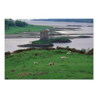 United Kingdom, Scotland, Isle of Skye, old Photographic Print