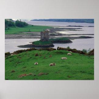United Kingdom, Scotland, Isle of Skye, old Poster
